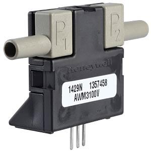 Flow sensor, amplified, 0 - 0.2slpm HONEYWELL AWM3100V