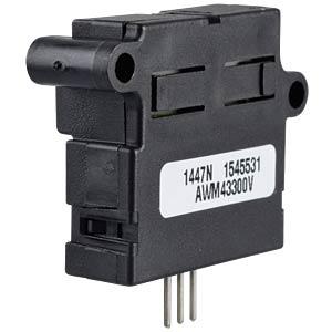 Flow sensor, amplified, 0 - 1slpm HONEYWELL AWM43300V