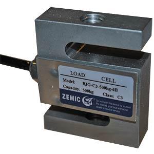 Force sensor, 0 ... 500 kg, 5 ... 12 V VARIOHM SS3G-500KG-C3