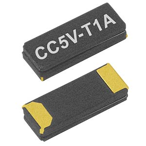 Quartz oscillator, ceramic housing, 1.5x4.1x0.9mm, 12.5pF MICRO CRYSTAL CC5V-T1A 32,768KHZ 12,5PF
