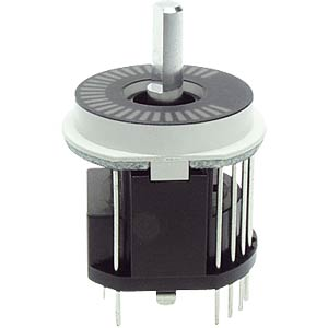 ALPS LED rotary pulse encoder with switch, 15/30 ALPS 402163