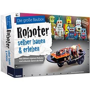 Baubox: Roboter selber bauen und erleben FRANZIS-VERLAG 978-3-645-65267-4