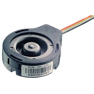 Force sensor, 0 ... 22.5 kg, 5 V MEASUREMENT SPECIALTIES FX1901-0001-50L