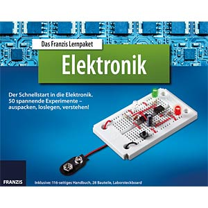 Educational kit: Quick start in electronics FRANZIS-VERLAG 978-3-645-65272-8