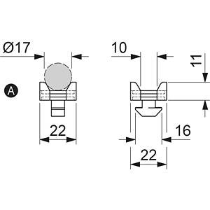 Kabelhalterblock 40+ FLEXLINK J5372619700