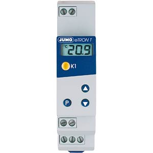 Rail-mount thermostat with LCD, 24 V AC/DC JUMO 70/00438730