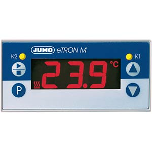Electronic thermostat with LCD, 230 V AC JUMO 70/00438733