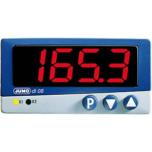 Temperature display di08 701530, 230 V AC JUMO 70/00387993