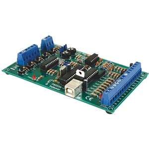 Bausatz: USB Experiment-Interface-Board VELLEMAN K8055