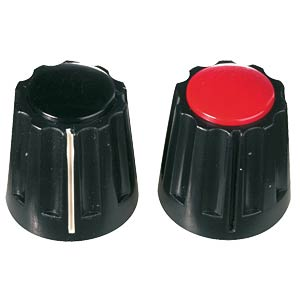 Rotary knob with marker for 6-mm axis NOTE: please order cover s MENTOR 331.61