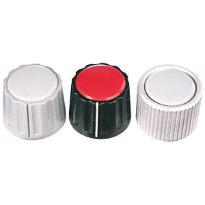Rotary knob without marker for 4-mm axis NOTE: please order cove MENTOR 332.4