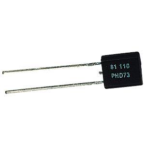 Temperature sensor, PTC, 2 kOhm, -55...+150°C NXP KTY81/222,112