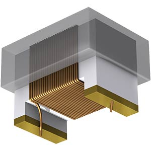 SMD ceramic inductor, 1812AS 1.5 µH FASTRON 1812AS-1R5K-01