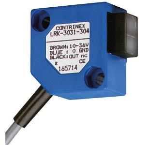 Lichttaster Reflex, 2000 mm, PNP, Dunkel-An CONTRINEX LRK-3031-304