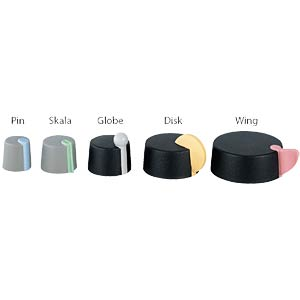TOP KNOBS marking element WING, pastel pink OKW A1104003