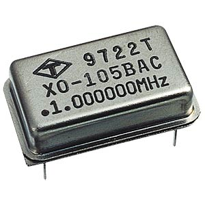 Quartz oscillator, 3.579545 MHz FREI