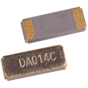 Quartz oscillator, SMD ceramic housing, 4.1 x 1.5 x 0.75 mm  PG32768E