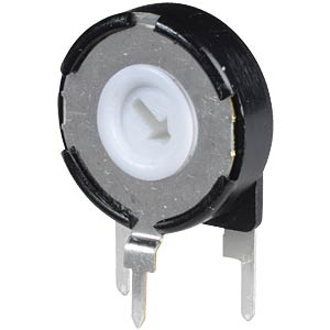 Setting potentiometer, vertical, 15mm, 500 K-Ohm PIHER PT15LH05-504A2020