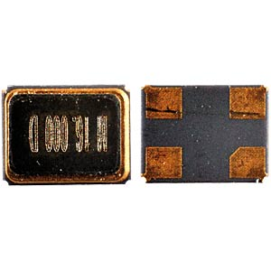 Keramik-SMD-Quarz  2,5x3,2x0,7mm  25,0 MHz EUROQUARTZ 25.000MHZ MT -40+85 12PF