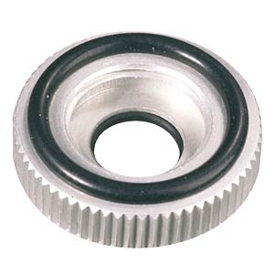 Knurled nut for 6-mm shaft MENTOR 6601.0403