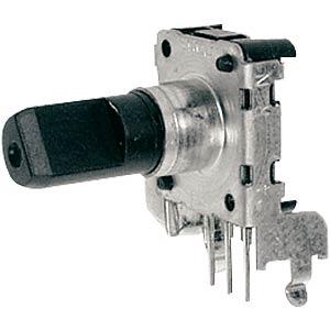 ALPS STEC12E rotary pulse encoder, 24/24, horiz., w/o PB ALPS 402158