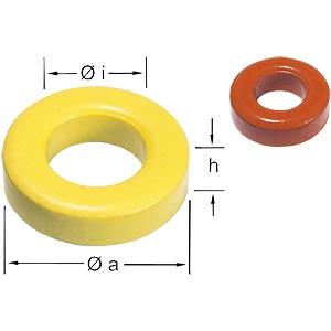 Amidon-Ringkern AMIDON T 50-6    VPE=100
