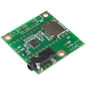 Teensy Shield - MicroSD/Audio f. Teensy 3.x PJRC TEENSY AUDIO-SD