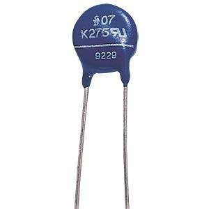 Varistor,Rm 7,5mm, 0,6W, 275VAC FREI