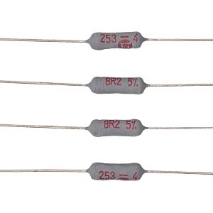 Sicherungswiderstand, axial, 3,5 W, 47 Ohm, 5% VITROHM CRF256-45T47R
