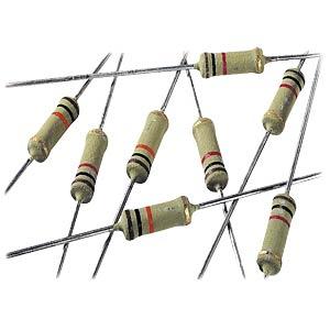 Metal oxide film resistor, 2 W, 5%, 220 kOhms VITROHM PO593-05T220K