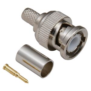 BNC Stecker - Crimp, RG 59/U BKL 0401001/D