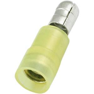 Circular connector yellow Plug RND CONNECT RND 465-00004