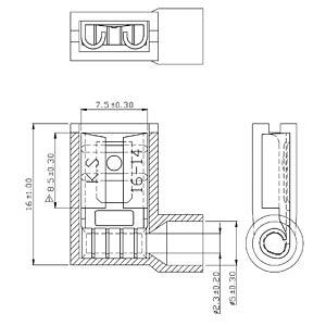 rnd 465 00078 flachsteckh lse 6 3 x 0 8 mm blau 100 stk bei reichelt elektronik. Black Bedroom Furniture Sets. Home Design Ideas