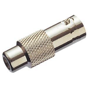 BNC adapter, BNC socket/RCA socket FREI