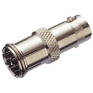 BNC adapter, BNC socket/coaxial socket FREI