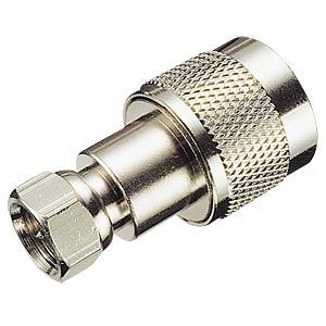 HF-Adapter, UHF-Stecker / F-Stecker FREI