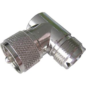 UHF elbow piece, plug/socket FREI