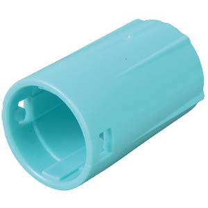 Anti-kink sleeve for BNC LARGE, turquoise NEUTRIK BST-BLC-CY