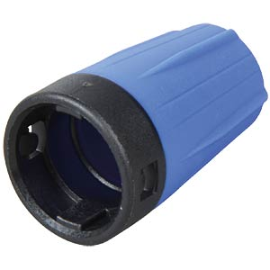 Anti-kink sleeve for rearTWIST BNC, blue NEUTRIK BST-BNC-6
