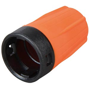 Anti-kink sleeve for rearTWIST BNC, orange NEUTRIK BST-BNC-3