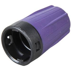 Knickschutztülle für rearTWIST BNC, violett NEUTRIK BST-BNC-7