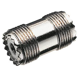 UHF connector, jack/jack FREI