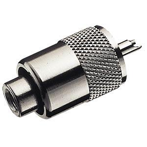 UHF-Stecker für max. 6mm Kabeldurchmesser FREI
