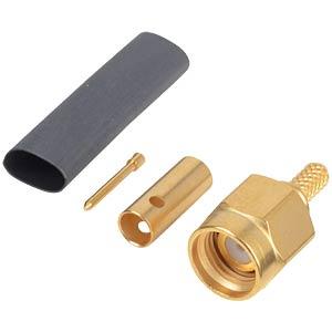SMA-Plug RG174/316, straight, crimp RADIALL R125 072 000