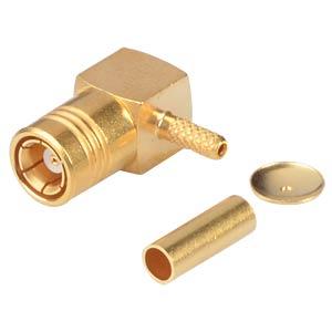 SMB-plug RG174/316, angled, jack, crimp RADIALL R114183000