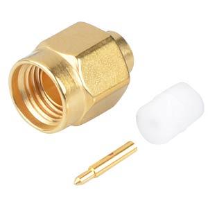 SMA-plug, RG402, straight RADIALL R125055000W