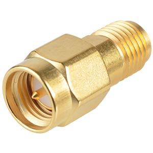 SMA-Adapter, Stecker auf Buchse RADIALL R125704000