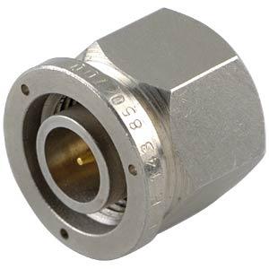 TNC plug, RG58/141/142/223/400, conduit gland RADIALL R143008000W