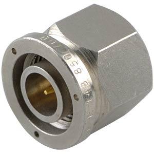 TNC plug, RG58/141, crimp RADIALL R143082000W