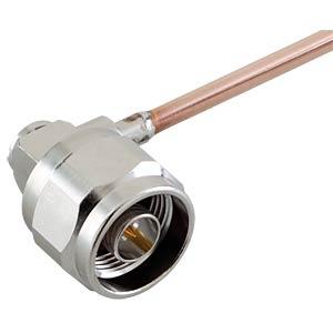 N-plug, RG214, angled, crimp RADIALL R161168000W